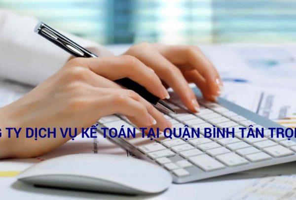 công ty dịch vụ kế toán tại quận Bình Tân
