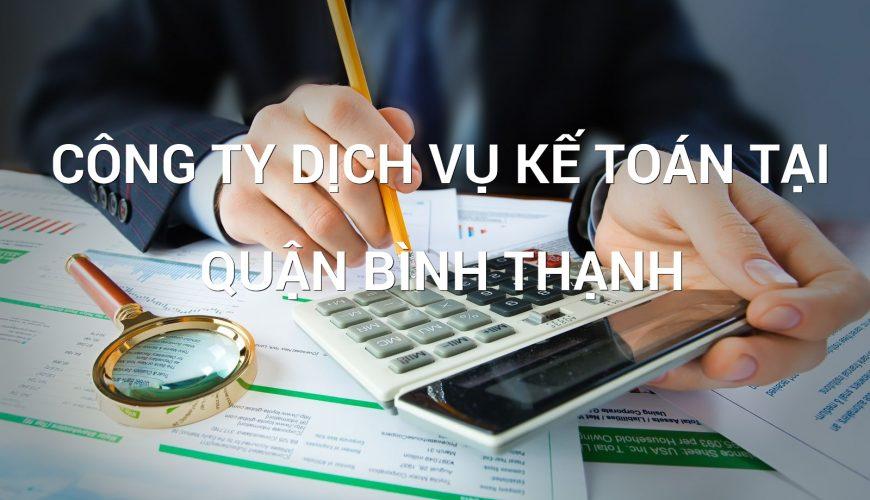 công ty dịch vụ kế toán tại quận Bình Thạnh